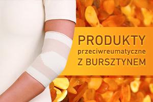 Produkty przeciwreumatyczne z bursztynem